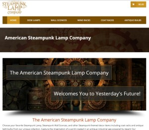 American Steampunk Lamp Company